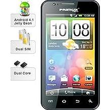 """Primux Omega - Teléfono movil con pantalla 5"""" capacitiva, android 4.1, CPU 1Ghz, cámara digital de 5 Mpx, cámara secundaria de 1,3 Mpx"""