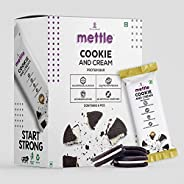 swasthum Mettle Cookies and Cream Protein Bar | 20g Protein per bar | 60 gm Nutrition Bars Each (Pack of 6)