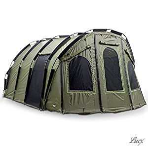 Lucx® 'Bigfoot' Bivvy XXL 2-6 Person Fishing Camping Carp Tent