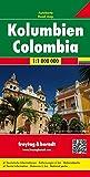 Kolumbien, Autokarte 1:1.000.000, freytag & berndt Auto + Freizeitkarten