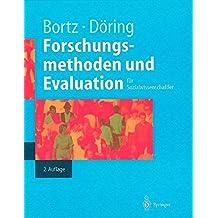 Forschungsmethoden und Evaluation (Springer-Lehrbuch)