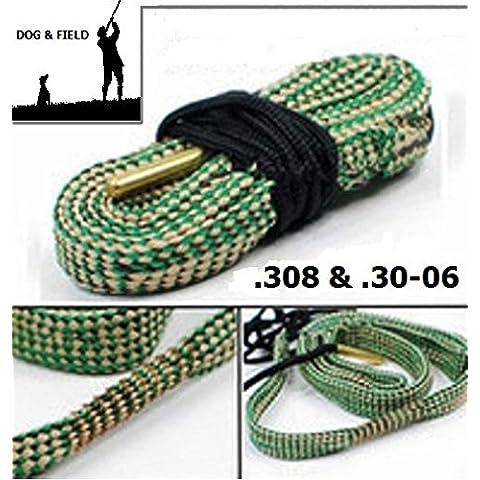 Dog & Field Bore Cleaner & .308 30-06 Caliber fucile di serpente