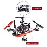 SunFounder BEE-100 100mm Micro FPV Racing Quadcopter Drone 600TVL 5.8G 40CH 25mW Camera 1S 8520 DC MOTOR F3 EVO Brush Flight Controller Carbon Fiber Frame Kit
