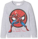 Spiderman Strong Hero, T-Shirt Bambino, Gris (Grey 335), 6 Anni (Taglia Produttore: 6Y)