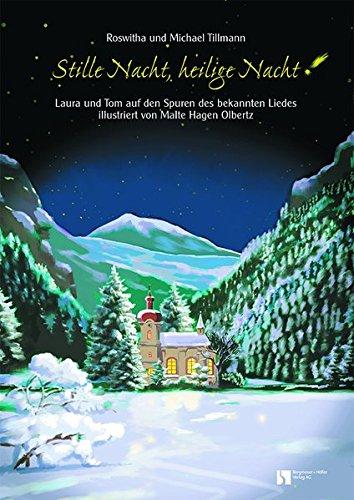 Stille Nacht: Fensterbild-Adventskalender mit Begleitheft, ab 8 Jahre