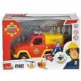 Speelgoed 79403 - Feuerwehr Sam Venus brandweerauto mit Figurine, Mehrfarbig