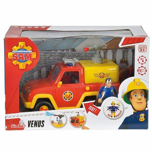 Preisvergleich Produktbild Speelgoed 79403 - Feuerwehr Sam Venus brandweerauto mit figurine, mehrfarbig