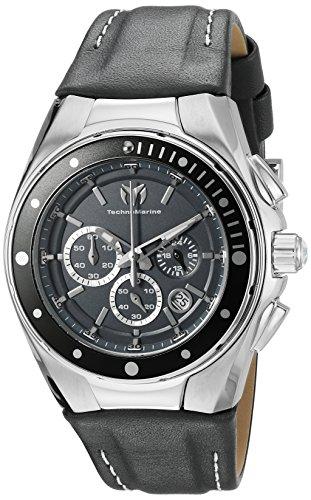 TechnoMarine TM-215036 - Reloj de cuarzo para mujeres, color gris