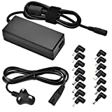 CUGLB 65W Laptop AC Power Adapter Charger with Multi Connectors for Notebook Ultrabook Acer Toshiba Dell Lenovo/IBM Samsung Sony Gateway HP Fujitsu and More Brand Automatic Voltage 15V-20V