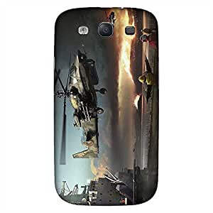 Mobo Monkey Designer Printed Back Case Cover for Samsung Galaxy S3 I9300 :: Samsung I9305 Galaxy S III :: Samsung Galaxy S III Lte (Helicopter :: Fighter Jet :: Airforce :: Videogame :: Aircraft)