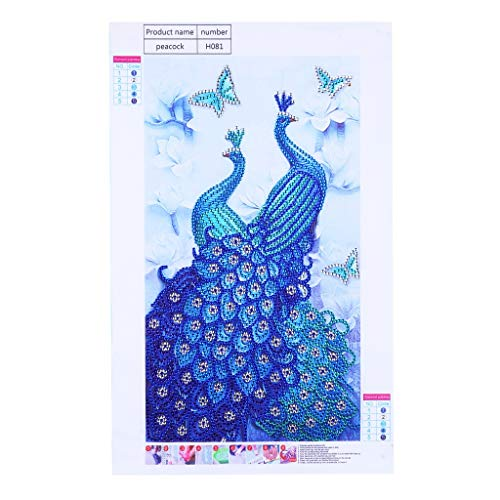 QIMANZI Diamant Malerei Besondere Geformt DIY 5D KreuzStich Kits Tier Seriell DiamantStickerei Kunst KunstMosaik zum Zuhause Wand Dekorationmit Aufbewahrungsbox(L,25x25cm)