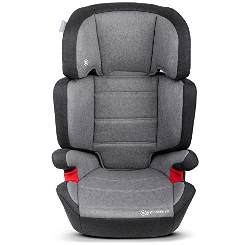 Kinderkraft Junior Plus Kinderautositz 15 bis 36 kg Gruppe 2 3 (Grau)