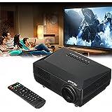 CAMTOA Mini LED 1080P Vidéoprojecteur maison Theater PC portable HDMI AV TV VGA SD USB