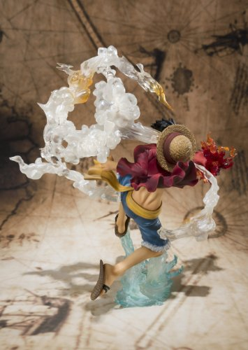 "Bandai Tamashii Nations Monkey. D. Luffy ""One-Piece"" FiguartsZERO Figure (Battle Version) (japan import) 5"