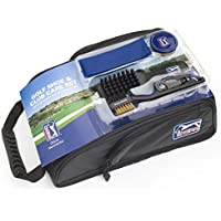 PGA Tour Shoe Bag With Club Cleaning Set