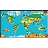 LeapFrog LeapReader Interactive World Map (works with Tag) bébé, nourrisson, enfant, jouet