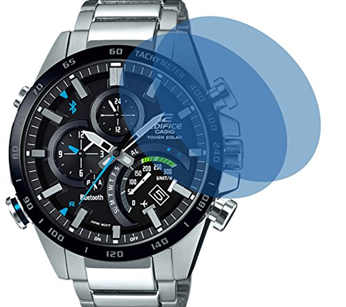 2x Crystal clear klar Schutzfolie für CASIO BLUETOOTH WATCH Premium Displayschutzfolie Bildschirmschutzfolie Schutzhülle Displayschutz Displayfolie Folie