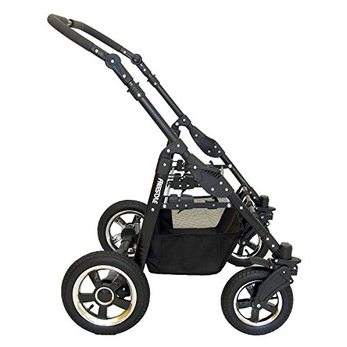 Zwillingskinderwagen Freestyle Twins 2in - 9
