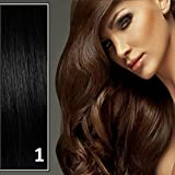 Athenia® 22'' inch Clip in Futura Hair Extensions - Six Piece Full Head set - ** 150 GRAMS of hair per pack ** - Heat Style up to a Massive 200 Degrees - Superior Salon Quality - Natural Look & Feel - Click for more colour options