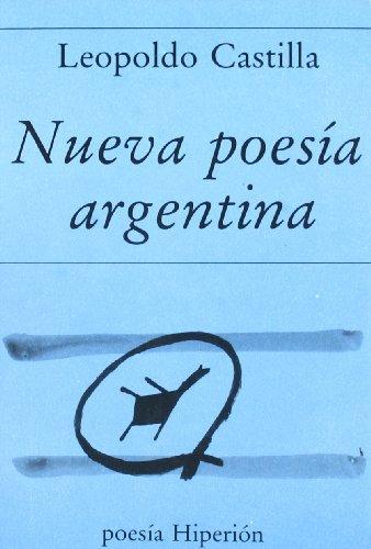 Nueva poesía argentina: antología (Poesía Hiperión)