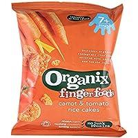Organix   Carrot & Tomato Rice Cakes   3 x 50g