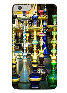 Blue Throat Hookas Inpsired Hard Plastic Printed Back Cover/Case For Micromax Knight 2 E471