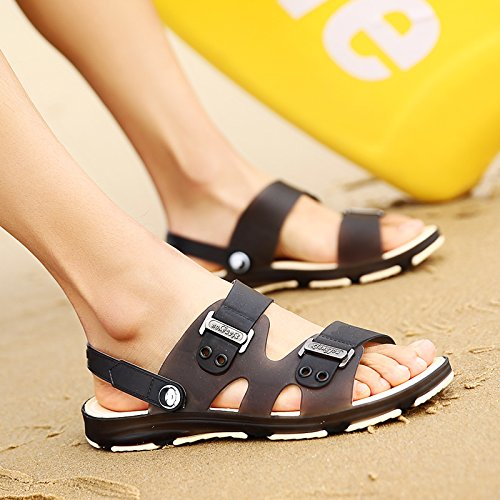 Xing Lin Sandales Pour Hommes Tong Casual New MenS MenS Shoes Télévision Sandales Antidérapantes Chaussures De Plage Sandales Et Chaussures Trou Student black