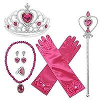 GenialES Princess Aankleed Accessoires Cadeaus voor Meisjes Verjaardag Halloween Cosplay Kostuums