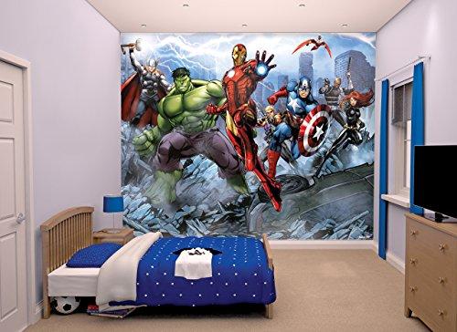 Walltastic, Mural, los Vengadores Unidos,, 243 cm x 304 cm