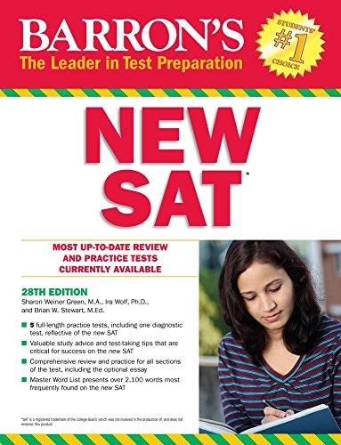 Barron's NEW SAT, 28th edition (Barron's Sat (Book Only))