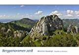 Kalender Berge 2018 Kalender Alpen 2018 Kalender Bergpanoramen 2018 Kalender Oberbayern 2018: Münchner Hausberge - Bayerisches Oberland (Geschenkkalender)