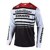 Troy Lee Designs Downhill-Jersey Sprint Weiß Gr. XL