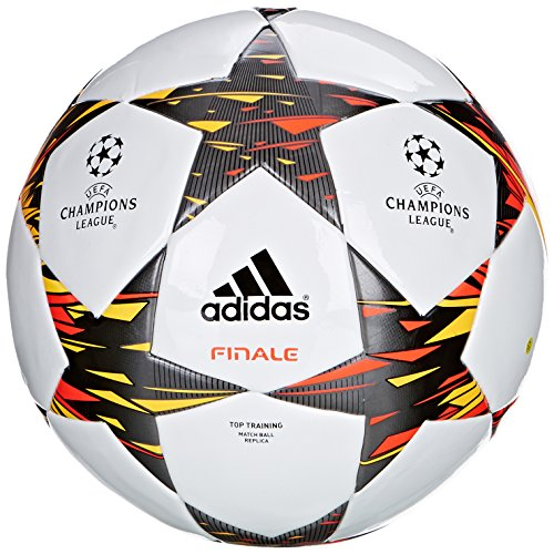 adidas Fußball Finale 14 Training, Wht/Infred/Neonor, 5, F93369 - Neon Fußball Adidas Ball