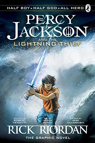 Percy Jackson and the Lightning Thief: The Graphic Novel (Book 1) (Percy Jackson Graphic Novels, Band 1)