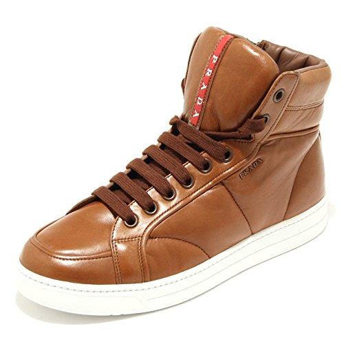 1576G sneaker alta cuoio PRADA SPORT scarpa uomo shoes men [7]