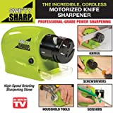 #10: Kihika Swifty Sharp Motorized Knife Sharpener and Includes CATCH-TRAY for Metal Shavings