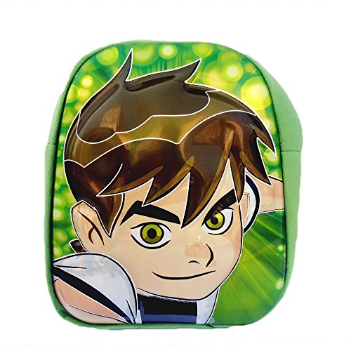 Zomaark Teddy Cute lightweight Ben 10 3D School Bag For Boys - Green  available at amazon for Rs.399