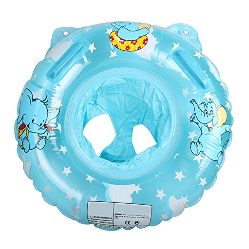 ANGELBUBBLES Baby Kinder Tauchringe Schwimmring Schwimmringe Schwimmreifen Sicherheitsringe für Schwimmbad Float (Blau)