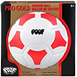POOF Pro Gold 7.5-Inch Foam Soccer Ball, Colors May Vary by POOF
