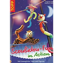 Scoubidou-Fun in Action. Voll bewegliche Tiere und Figuren
