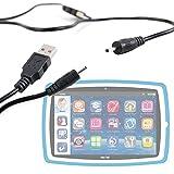 DURAGADGET Cavo Spinotto DC a USB 2.0 Carica Per Lisciani Giochi MIO TAB 10' - 64243 | MIO TAB 10' SPECIAL EDITION - 64250 | MIO TAB 10' TUTOR - 64229 | MIO TAB 10' TUTOR SPECIAL EDITION - 64236 | MIO TAB 7' SMART KID - 64212 | MIO TAB 7' SMART KID SPECIAL EDITION – 64205