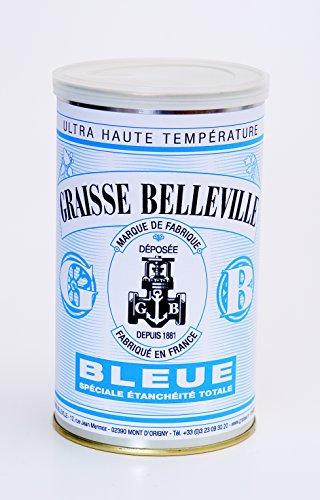 GRAISSE BELLEVILLE Etiquette BLEUE Boite de graisse 1kg
