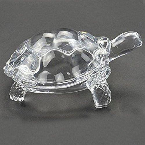 odishabazaar Kristall Schildkröte mediumtortoise für Feng Shui und Vastu–Geschenk für Karriere und Glück