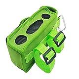 Weiche Neopren-Hülle mit einem Karabiner für Bose Soundlink Mini/Mini II Bluetooth Lautsprecher (Green)