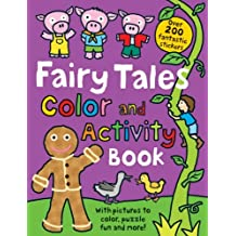 Fairy Tales Color and Activity Book by Holly Russell (2011-08-01)