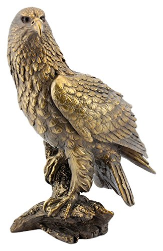 leonardo-collection-figurine-daigle-en-resine-couleur-bronze