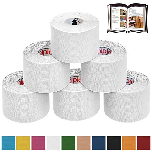 BB Sport 6 Rollos Cinta Kinesiología Tape 5 m x 5