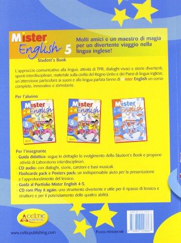 Mister english. Per la Scuola elementare. Con CD Audio. Con espansione online: 5