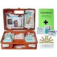 Erste-Hilfe-Koffer Kita Incl.Hygiene-Ausstattung nach Din 13157 für Betriebe + Din/EN 13164 für KFZ - mit Verbandbuch... preisvergleich bei billige-tabletten.eu