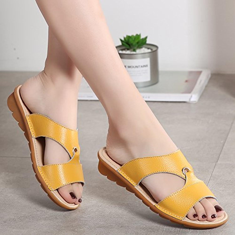 OME&QIUMEI Schuhe Der Frauen Tragen Rutschige Sandalen Mit Rutschfeste Zeichen Außerhalb Sommer